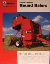 2007? New Idea 6465, 6464, 6454 Round Balers Specifications Sheet - $6.00