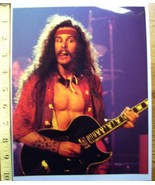 Ted Nugent Cat Scratch Fever Tour 8X10 Color Print 1977! - $10.80