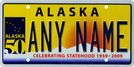 Custom Personalized Alaska golf cart, mobility scooter, go cart license plate - $12.99