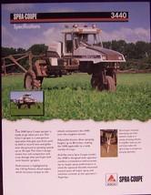 2007? Spra-Coupe 3440 Spray Rig Specifications Brochure - $7.00