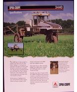 2007? Spra-Coupe 3440 Spray Rig Specifications Brochure - $7.00