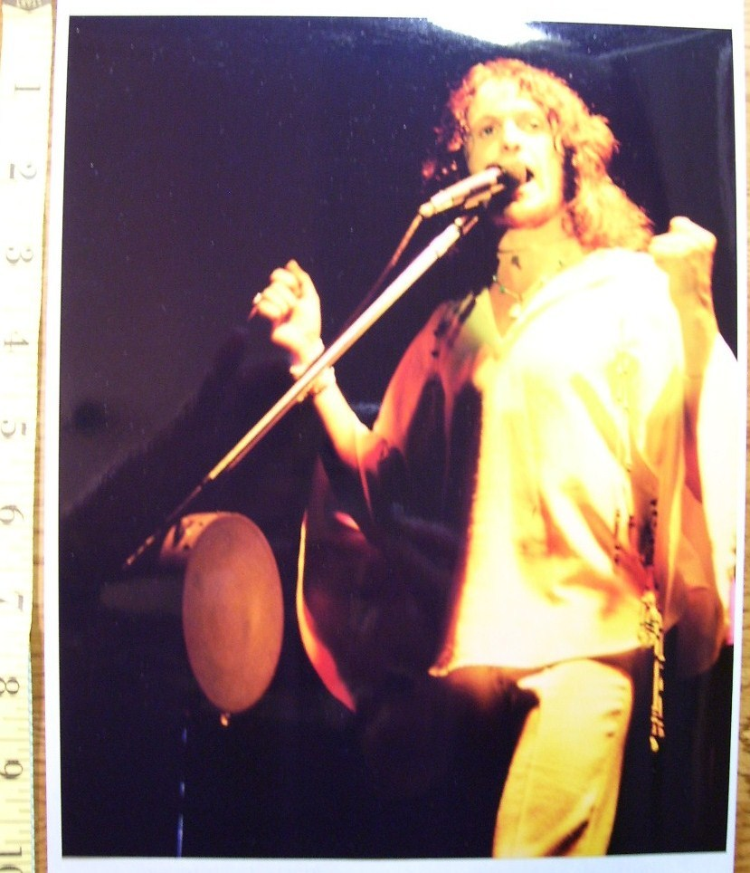 Yes Jon Anderson Vocalist 8X10 Color Print 1977!
