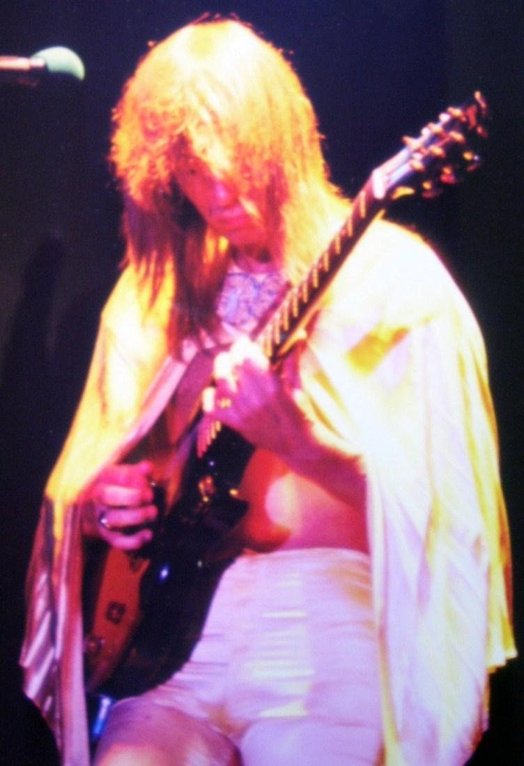 Yes Steve Howe Guitarist 8X10 Color Print 1977!