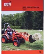 2007 Kioti CK20S Tractor Color Brochure - $7.00