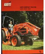2007 Kioti CK25, CK30, CK35 Tractors Brochure - $7.00