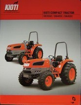 2007 Kioti DK35SE, DK40SE, DK45SE Tractors Specifications Sheet - $5.00