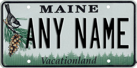 Custom Personalized Maine golf cart, mobility scooter license, go cart p... - $12.99