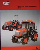 2007 Kioti DK45S Tractor Specifications Sheet - $5.00