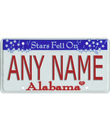 Custom Personalized Alabama golf cart, mobility scooter, go cart license... - $12.99