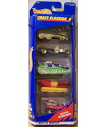 Hot Wheels 1998 Crazy Classic II 5 Pack  - $10.00