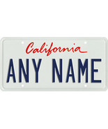 Custom Personalized California golf cart, mobility scooter license plate - $12.99