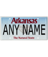 Custom Personalized Arkansas golf cart, mobility scooter, go cart licens... - $12.99