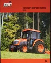 2007 Kioti DK55 Tractor Color Brochure - $7.00