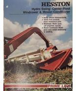 1981 Hesston 1010, 1014 Windrowers Brochure - $7.00