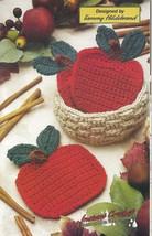Apple Coasters & Basket Crochet Pattern - $3.99