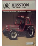 1988 Hesston 70-90, 70-90DT, 80-90, 80-90DT Tractors Brochure - $13.00