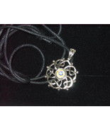 Pewter Celtic Completion Amulet / Pendant Necklace - $17.00