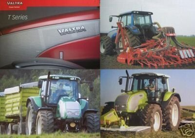 Primary image for 2004 Valtra T120, T130, T140, T160, T170, T180, T190 Tractors Brochure