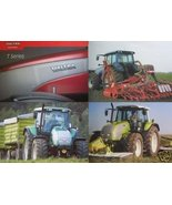 2004 Valtra T120, T130, T140, T160, T170, T180, T190 Tractors Brochure - $10.00
