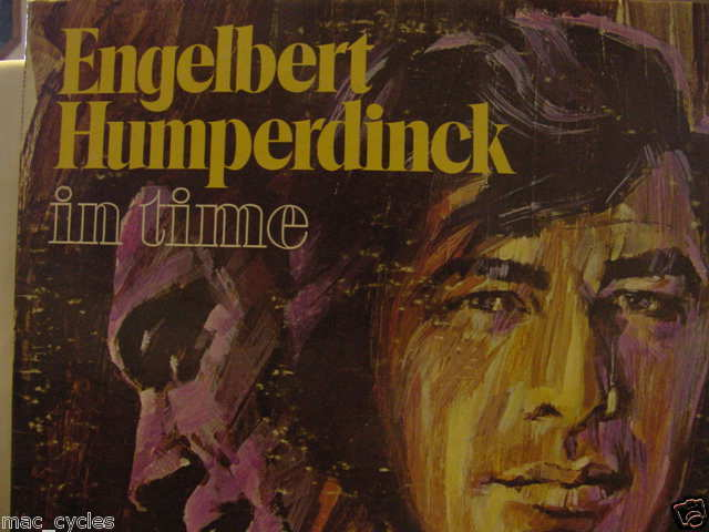 "ENGELBERT HUMPERDINCK ""IN TIME""  RARE LP"