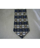 Honors Abstract Striped Diamond Neck Tie Necktie Man  - $5.00