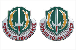 Genuine U.S. Army Crest: 3RD Psychological Operations (Power To Influence) - $18.79