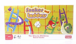 Funskool Snakes and Ladders Game 2-4 Players Indoor Game Age 4+ - $14.21