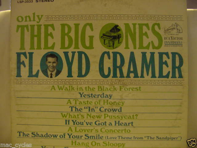 FLOYD CRAMER ONLY THE BIG ONES LP
