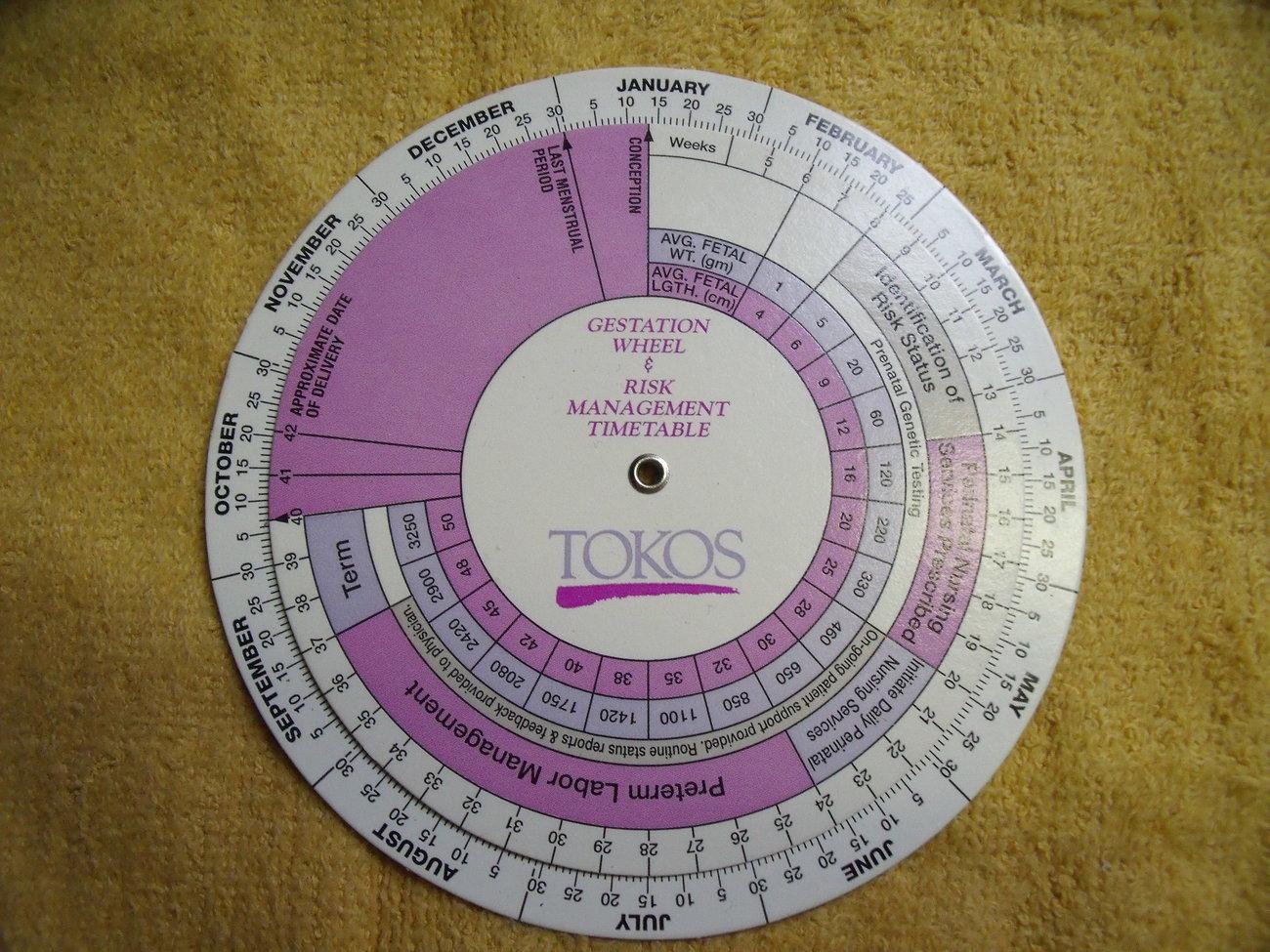 Gestational chart