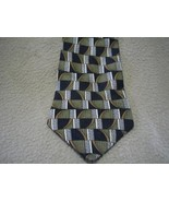 Honors Abstract Olive Black Neck Tie Necktie Man  - $5.00