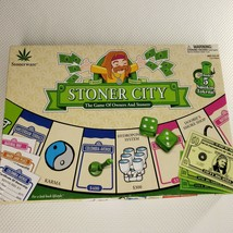 Stoner City 2005 Board Game 100% Complete Weed 420 - $59.35