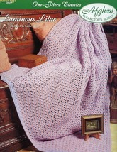 Crochet Pattern - Luminous Lilac - The Needlecraft Shop - One-Piece Classics - $2.25