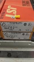 500 Pack 12-10 Gauge Vinyl ring Crimp Terminals #8 4mm Stud RBV5.5-4   F... - $44.55
