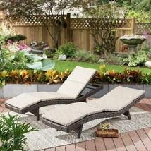 Better Homes  Gardens Avila 2-Piece Outdoor Wicker Chaise Lounge Set Wit... - $543.99
