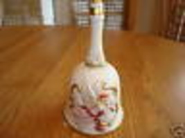 Homco ceramic bell #1441 figure collectible - $13.83