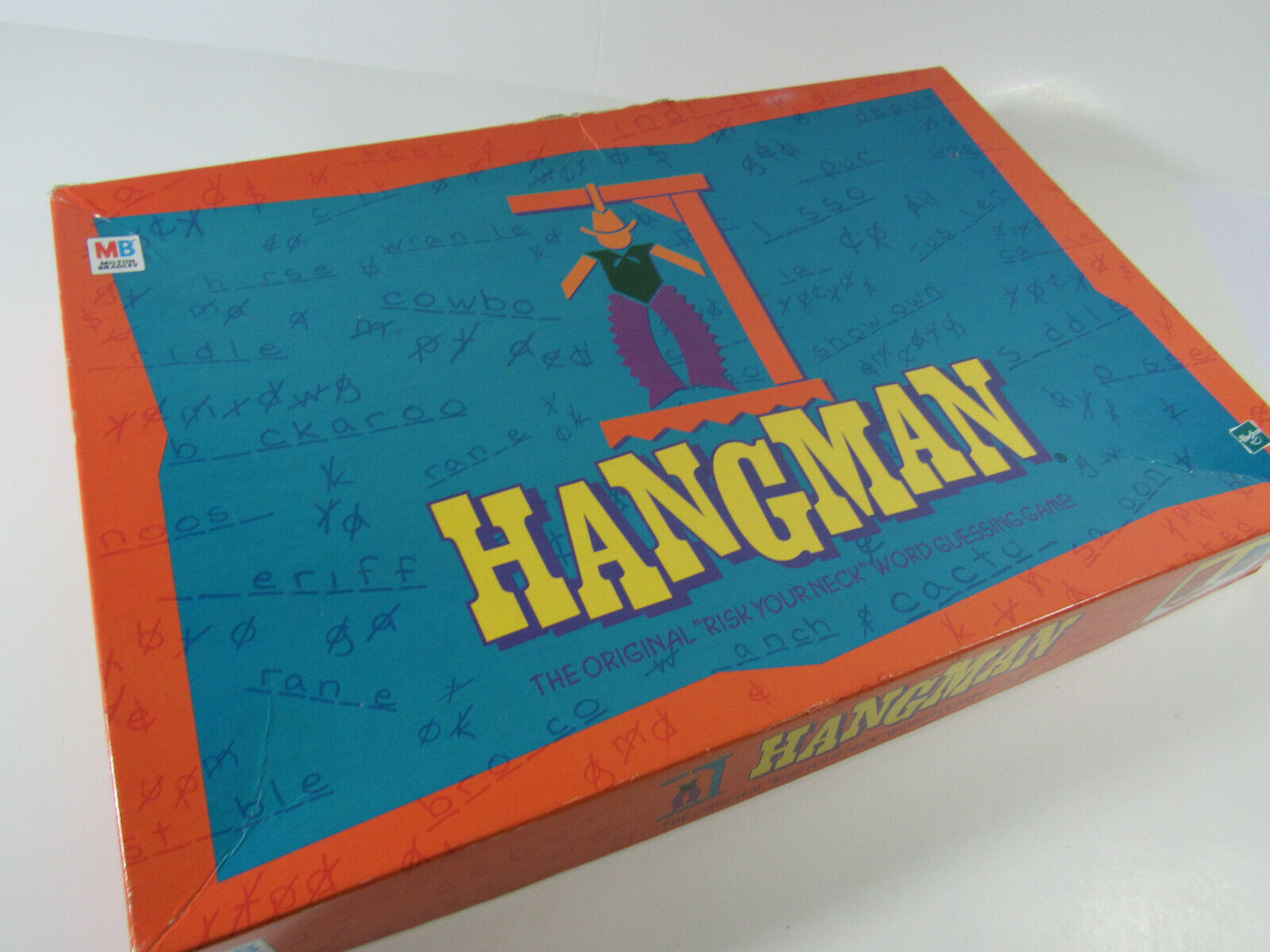 Primary image for MB Milton Bradley Hangman Guessing Game Family Board Game (Ages 8+) incomplete