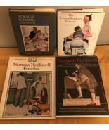Lot of 4 Norman Rockwell Illustrator Treasury Favorites Saturday Evening... - $48.37