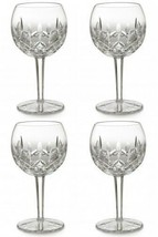 Waterford LISMORE Oversized Balloon Wine Glass 16 oz. (4) Four Glasses New - $519.75
