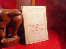 Manifesto of The Communist Party by K. Marx and F. E Engels - $11.76