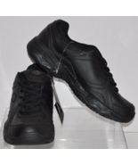 Dickies Brand Slip Resistant Men's Black Leather Work Shoes Venue II Siz... - $21.95