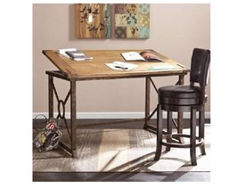 Drafting Table Antique Look Adjustable Architec... - $485.09