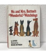 Mr. and Mrs. Button's Wonderful Watchdogs by Janice Roger Duvoisin Vtg 1978 - $6.44