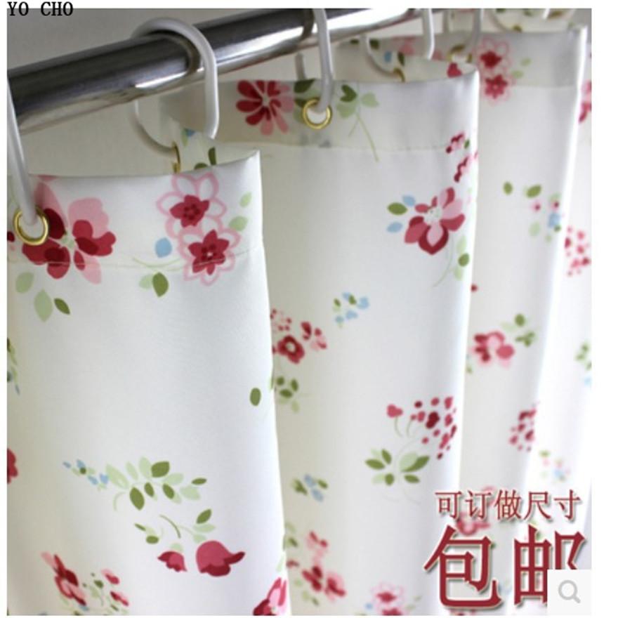 Owers bathroom shower curtain waterproof mildew thickened bathroom bath shower curtain polyester