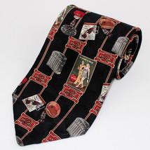 Coca Cola Nostalgia All Silk Tie Made in USA Retro  - $17.99