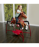 Radio Flyer Interactive Kids Riding Horse Toy Ride On Rocking Horse with Sounds - $199.99
