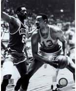 Bill Russell Wilt Chamberlain Celtics 76ers Vintage 8X10 BW Basketball ... - $4.99