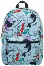 Disney Ariel Backpack Little Mermaid All Over Print Sublimated Full Size... - $69.00