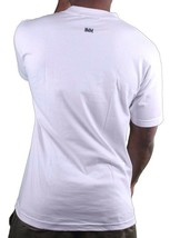 In4mation British C^nt Licking Tongue Between Fingers Men's White T-Shirt NWT image 2