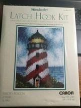 "Wonderart 4107 Sailors Beacon Latch Hook Kit Caron 15"" x 20"" - $10.99"