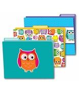 Carson Dellosa Colorful Owls File Folders 136009 - $9.81